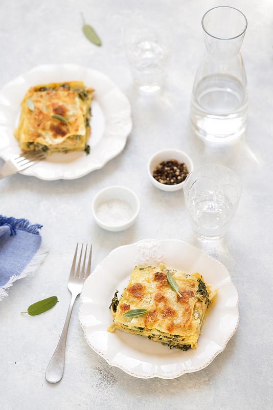 Lasagnes saumon épinards et mozzarella recette très facile