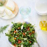 Salade de roquette, fenouil et orange recette italienne légère