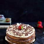 Gâteau étages vanille chocolat recette italienne