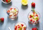 Tarte de poisson aux fraises
