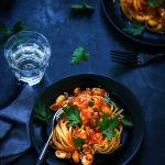 Pâtes seiches tomate recette italienne
