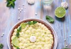 Tarte mojito (citron vert et menthe)