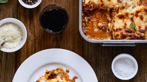 Lasagnes à la bolognaise - Recette et vidéo - Un déjeuner de soleil