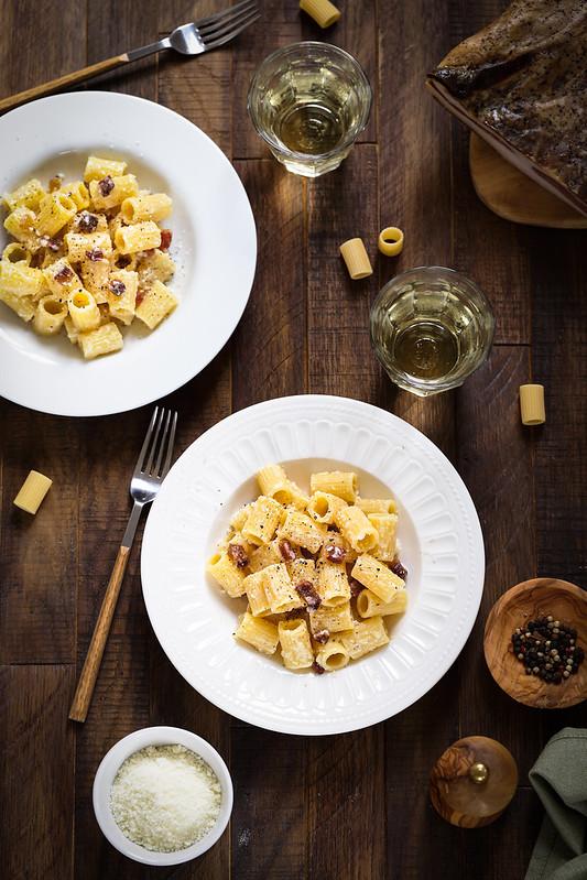 Pâtes à la gricia - Recette italienne - Un déjeuner de soleil