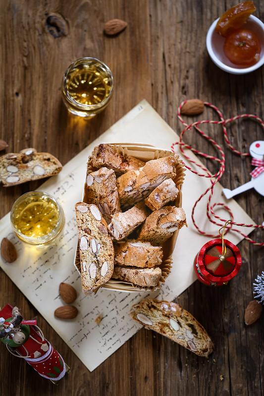 Biscotti italiens aux amandes recette italienne facile