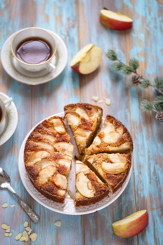 Gâteau aux pommes facile recette italienne