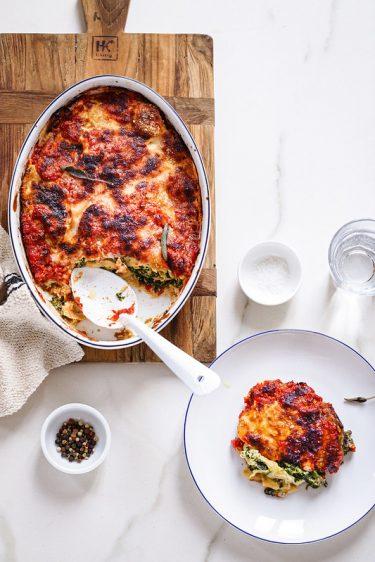 Crêpes ricotta épinards recette italienne