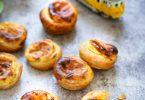 Pasteis nata flans portugais