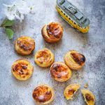Petits flans portugais pasteis nata