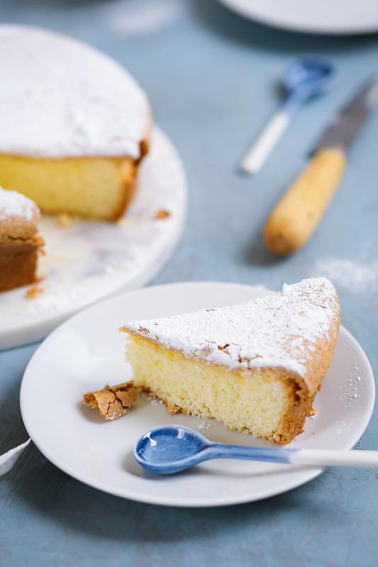 Gâteau fondant italien sans gluten