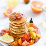 Pancakes moelleux amandes