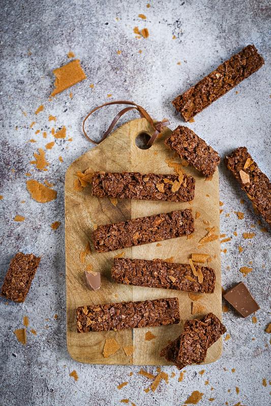 Barres chocolat croustillantes recette facile