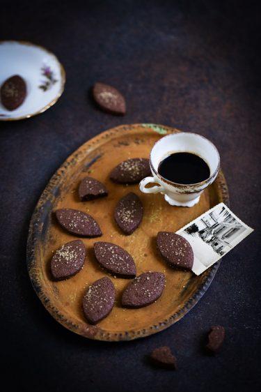 Biscuits sablés cacao sarrasin recette facile