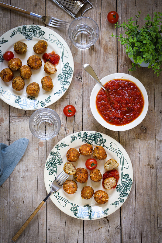 Boulettes fromages recette italienne