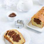 Cake coeur chocolat Nutella ou gateau surprise
