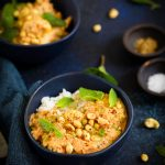 Chou-fleur curry comme butterchicken