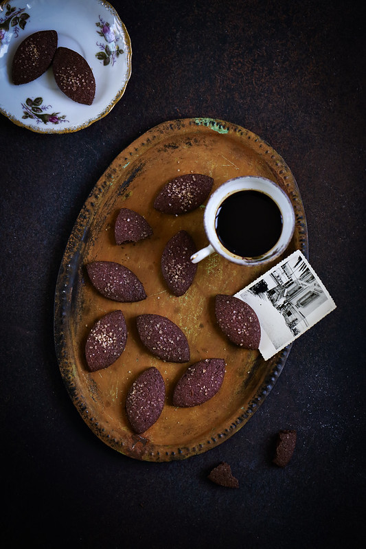Sables cacao sarrasin biscuits faciles