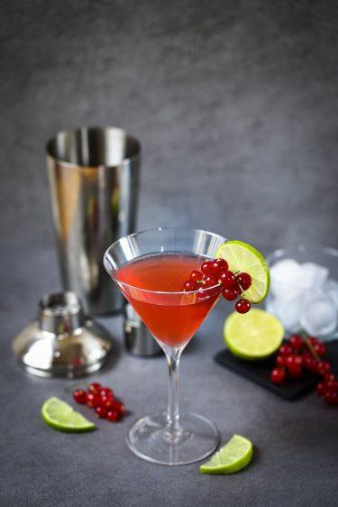 Cocktail cosmopolitan original recette