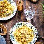 Pates carbonara recette italienne