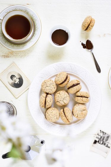 Baci di dama biscuits italiens recette video