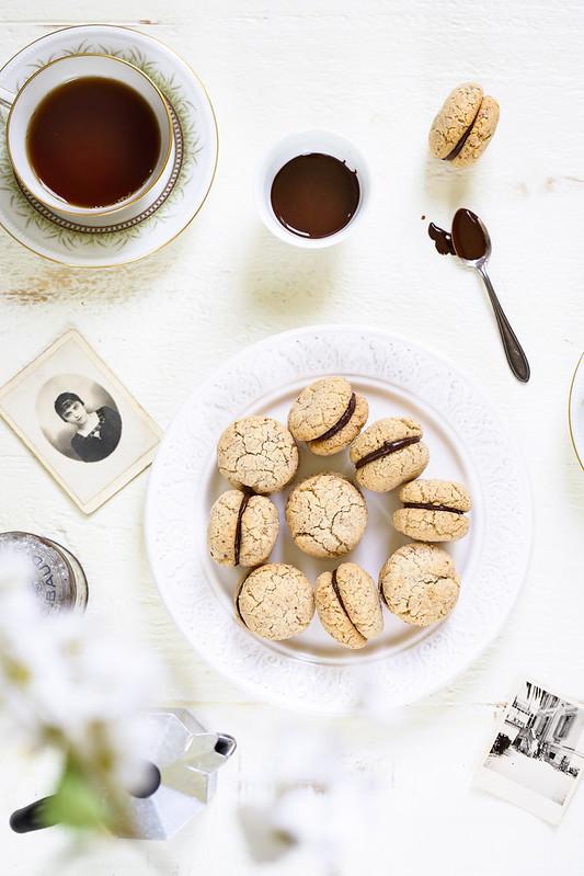 Baci di dama biscuits italiens recette video