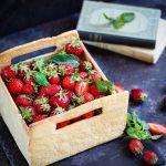 Gateau cagette fraises recette facile genoise creme patissiere video