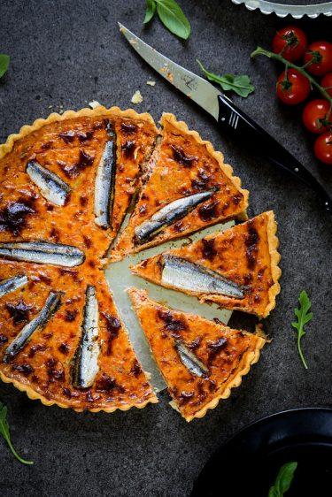 Quiche thon sardines tomates recette parfaite