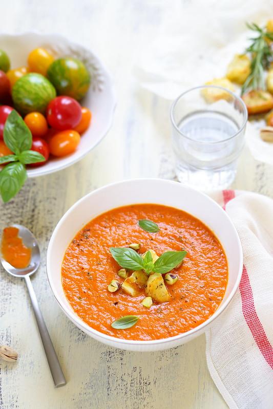 Quinze recettes soupes froides ete legeres