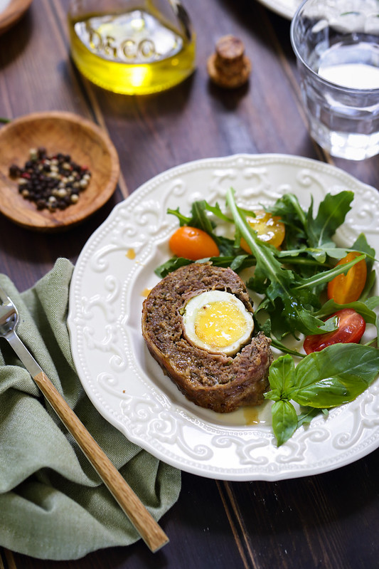 Polpettone pain viande italien farci recette video