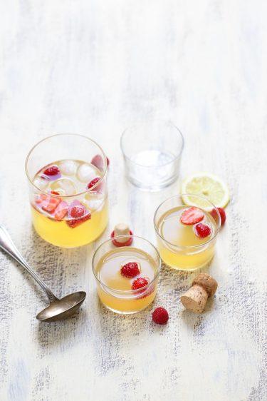 Soupe angevine cocktail recette facile fraiche