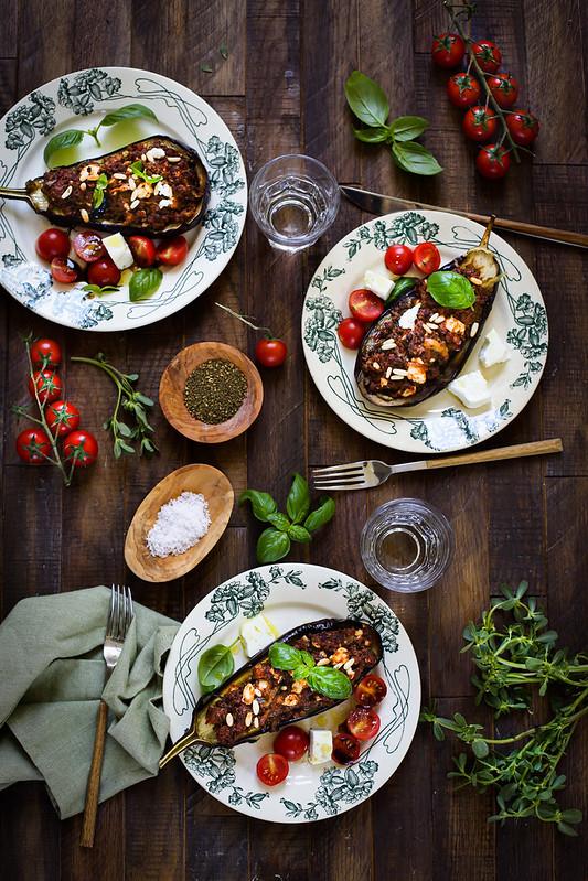 Aubergines farcies viande recette astuces reussi