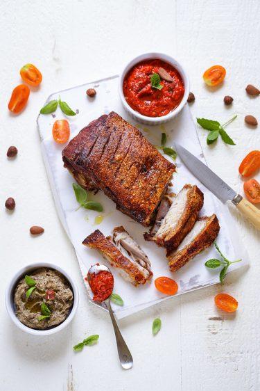 Reussir cuisson poitrine de porc rotie astuces