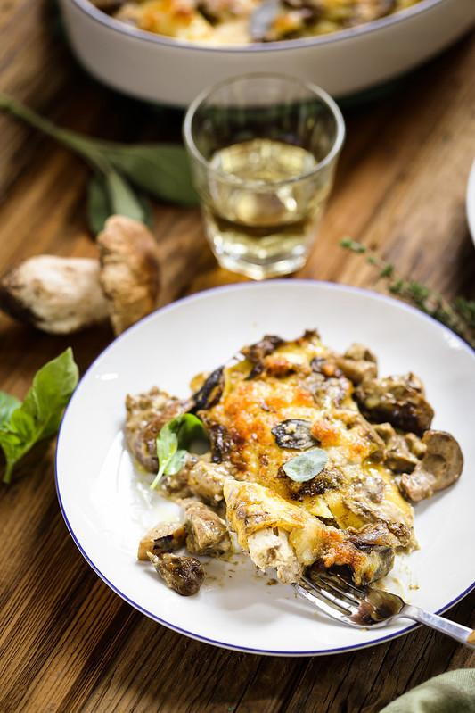 Cannelloni poulet champignons recette italienne