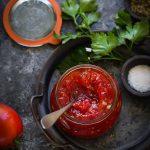 Confiture tomates maison