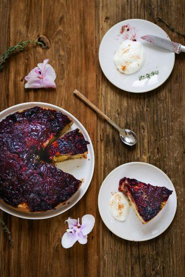 Gateau renverse prunes recette facile