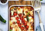 Lasagnes vegetariennes recette italienne video