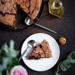 Gateau chocolat huile olive fondant sans gluten recette video