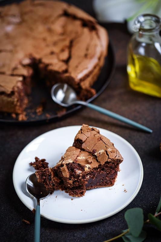 gateau chocolat huile olive sans gluten sans laitages