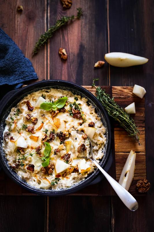 Gratin crozets gorgonzola recette facile