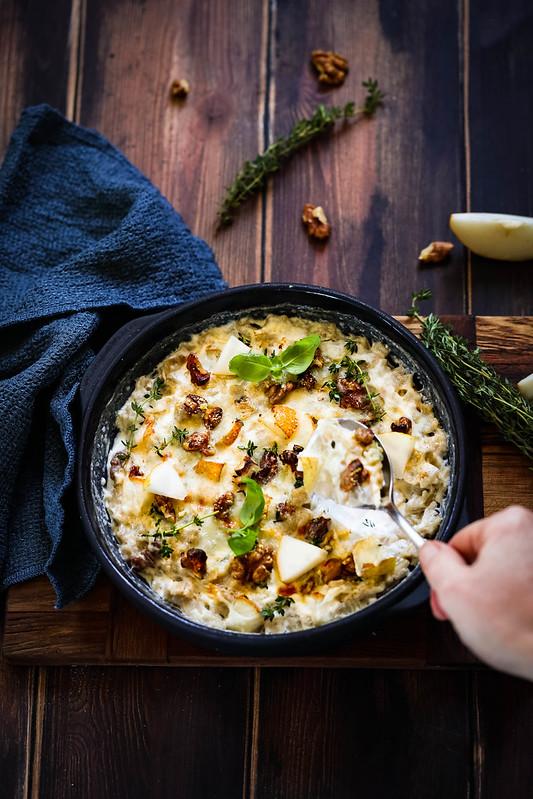 Gratin croziflette gorgonzola recette
