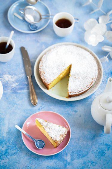 Torta paradiso gateau fondant italien au citron recette video