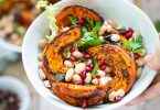 Salade potimarron haricots blancs recette facile