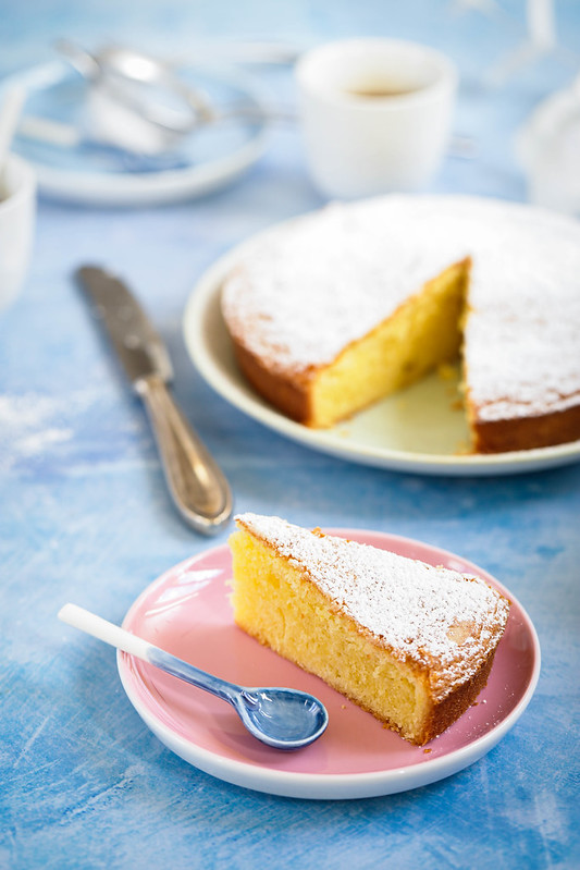 Gateau italien torta paradiso recette video