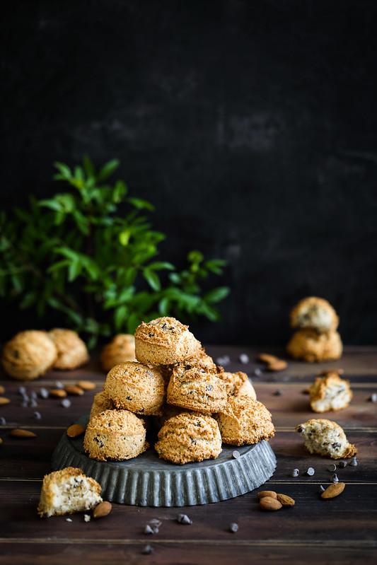 Rochers coco amande chocolat recette facile sans gluten