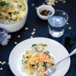 Croziflette saumon fume recette fetes