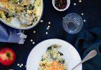 Gratin crozets croziflette saumon fume recette fetes