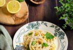 Pates citron recette italienne facile bon marche