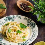 Pates citron recette facile vegetarienne video