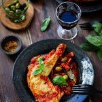 poulet sauce tomate cacciatora recette
