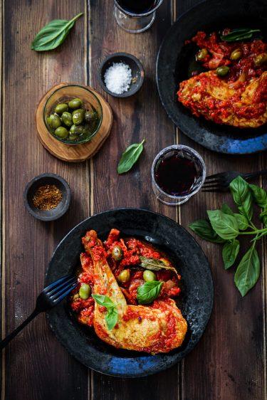 Poulet cacciatora recette italienne facile